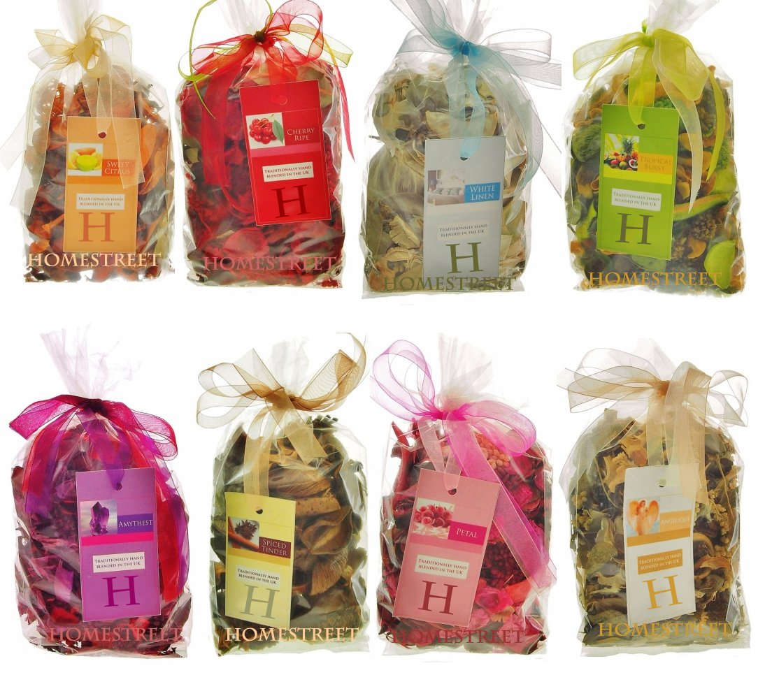 Homestreet Pot Pourri In A Gift Bag With Ribbon - Quality Home Scent