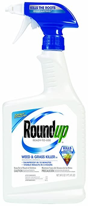 Roundup 5003080 Weed And Grass Killer III Ready To Use Trigger Spray 24