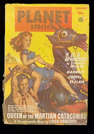 Planet Stories Pulp Sum 49 Fiction House Leigh Bracket Frg At