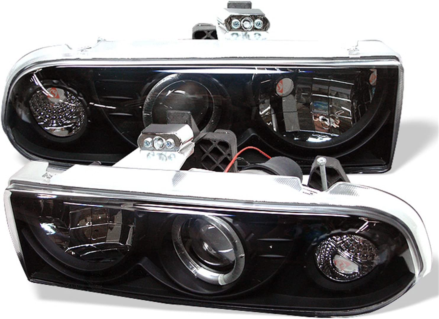 amazon com spyder 5009524 chevy s10 98 04 chevy blazer 98 05 projector headlights led halo black high 9005 not included low h1 included automotive spyder 5009524 chevy s10 98 04 chevy blazer 98 05 projector headlights led halo black high 9005 not included low h1 included