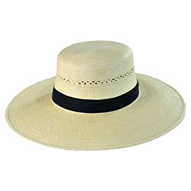 Espanola Guatemalan Palm Leaf Straw Hat (7-3 8) at Amazon Women s ... 39f381114e