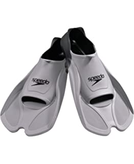 7e3791756ee8 Amazon.com   Speedo Rubber Swim Training Fins - L (W 9-10   M 8-9 ...