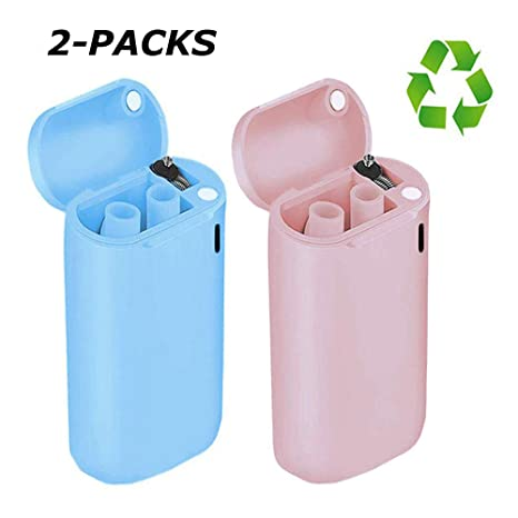 2 Pack Collapsible Straw Reusable Drinking Straws Stainless Steel Portable Straw
