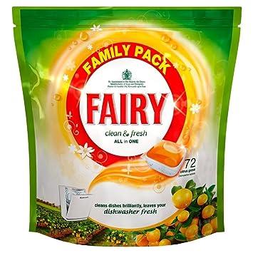 Fairy Limpia Y Fresca Pastillas De Lavavajillas Plantación De ...