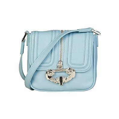 3eb7955241 Versace Jeans Women Cross Body Bag Blue Genuine Designer Crossbody Bag RRP  £255.00  Amazon.co.uk  Shoes   Bags