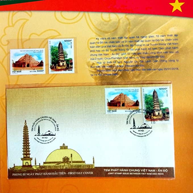 Viet NAM Rare Limited Issue VIP Stamp Folder 2018 Joint