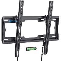 Tilt TV Wall Mount Bracket Low Profile for Most 23-55 Inch LED LCD OLED Plasma Flat Curved Screen TVs, 8 Degrees Tilting…