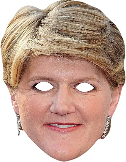 Claire Balding Horse Riding Commentator Card Face Mask Fast Dispatch