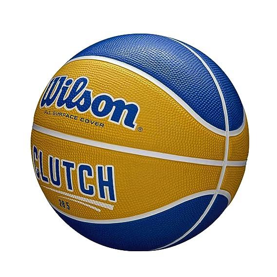 Wilson WTB14199XB07 Pelota de Baloncesto Clutch Caucho Interior y ...
