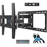 """Mounting Dream TV Mount Full Motion TV Wall Mounts for 26-55"""", Some up to 65"""" LED, LCD Flat Screen TV, Wall Mount Bracket up to VESA 400 x 400mm 99 lbs. Fits 16"""", 18"""", 24"""" Wood Studs MD2380-24"""