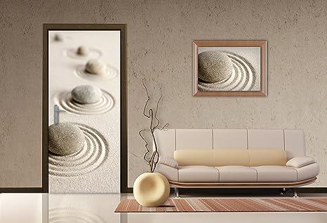 Amazoncom Ag Design Zen Stones Photo Mural Wallpaper
