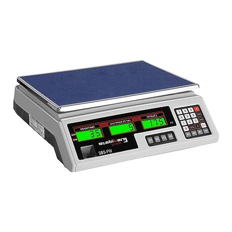 Steinberg Systems Balanza De Control Bascula Digital SBS-PW-352W (35 ...
