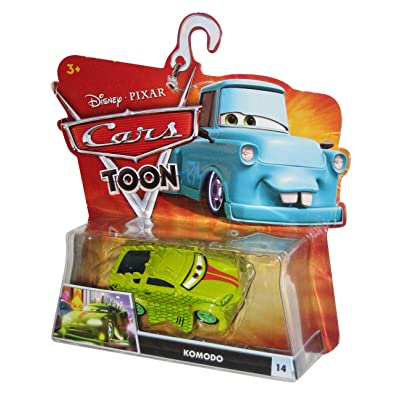 Disney / Pixar CARS TOON 155 Die Cast Car Komodo by MATTEL: Toys & Games