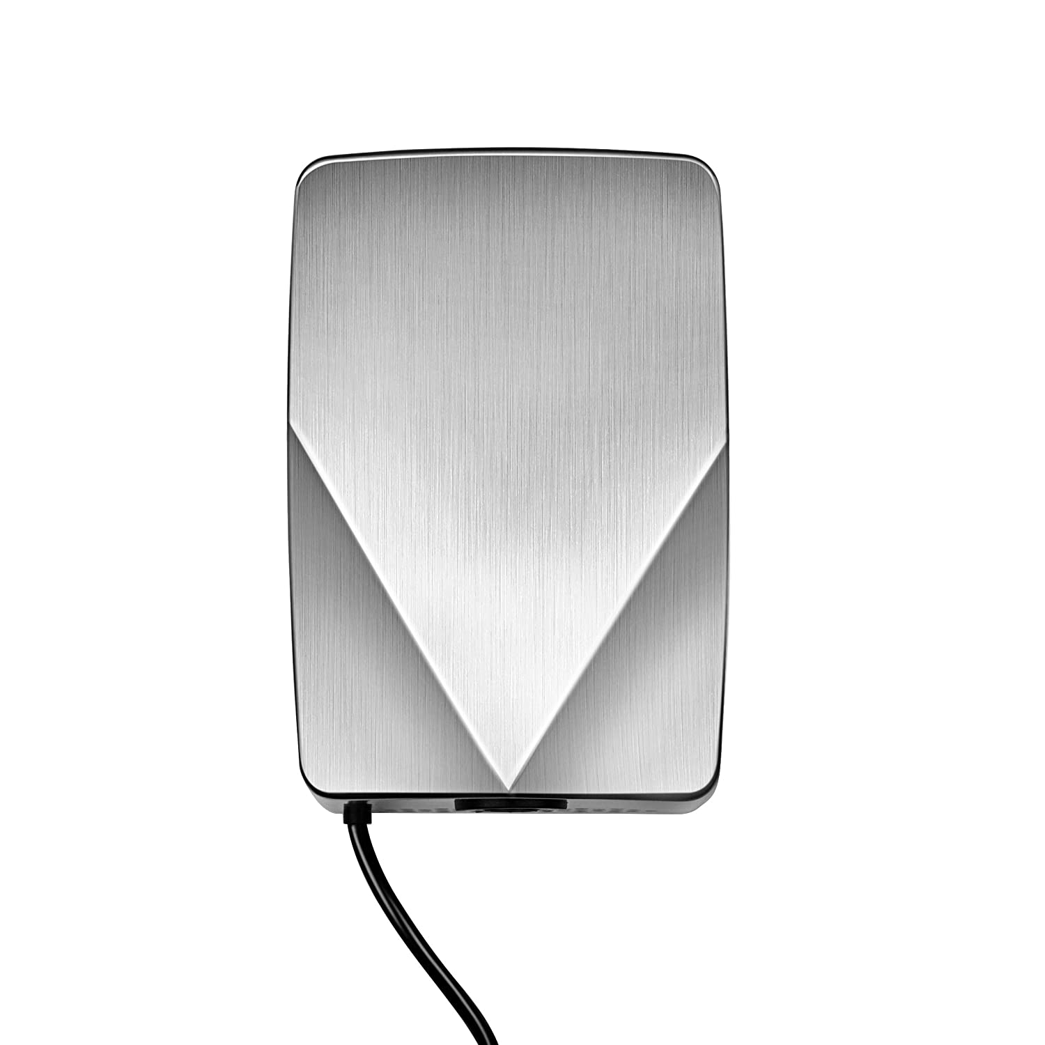 Kingwe 1028 Automatic Intelligent Induction Hand Dryer, High Speed Hot air Hand Blower / 304 Stainless Steel / /Easy Installation/Energy-efficient/for Home,Hotel Commercial Bathroom