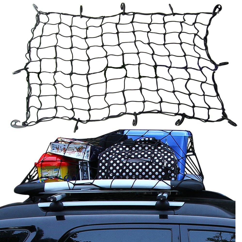 90x 130cm Cargo Net With 12 Hooks x 90 Streetwize Swcn1