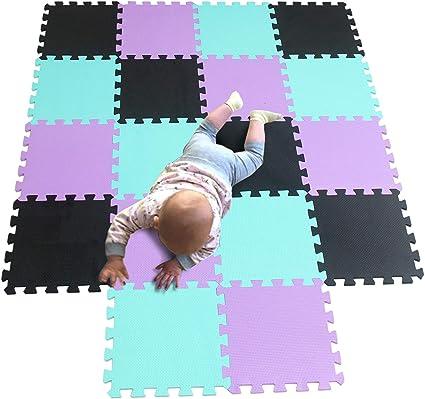 Heavy Thick EVA Foam Floor Mat Gym Yoga Exercise Interlocking Play Tile Mats Fit