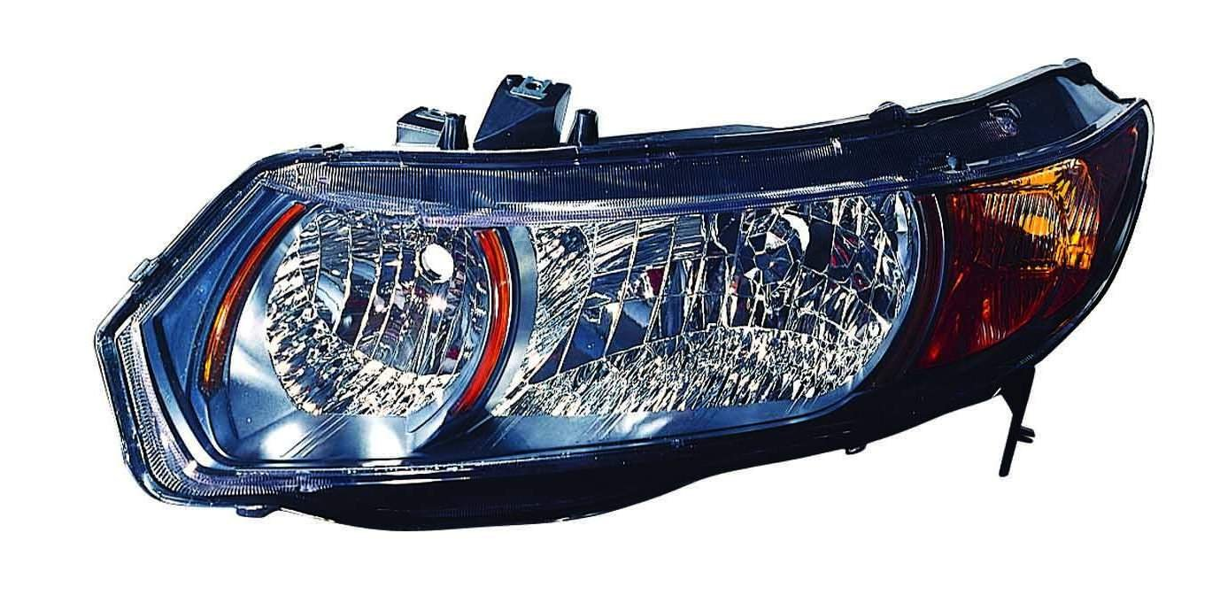 Depo 317-1148R-UF2Y Honda Civic Passenger Side Headlight Unit