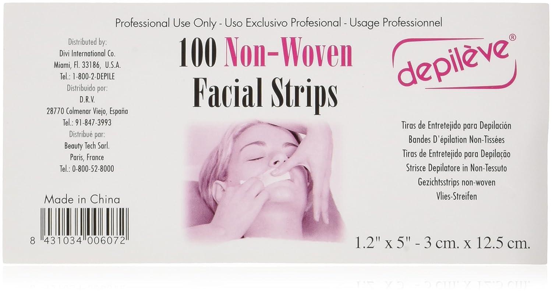 Depileve Non-woven Facial Strips