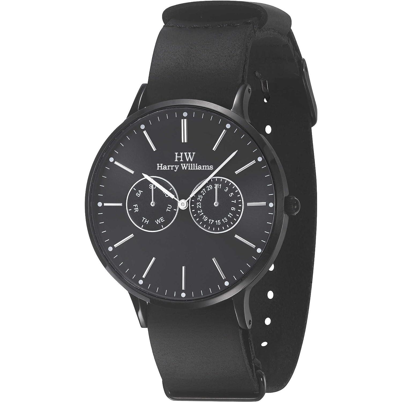 Multifunktions-Armbanduhr Herren Harry Williams Sportliche Cod. hw-2402j-03