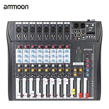 table de mixage 8 entrees