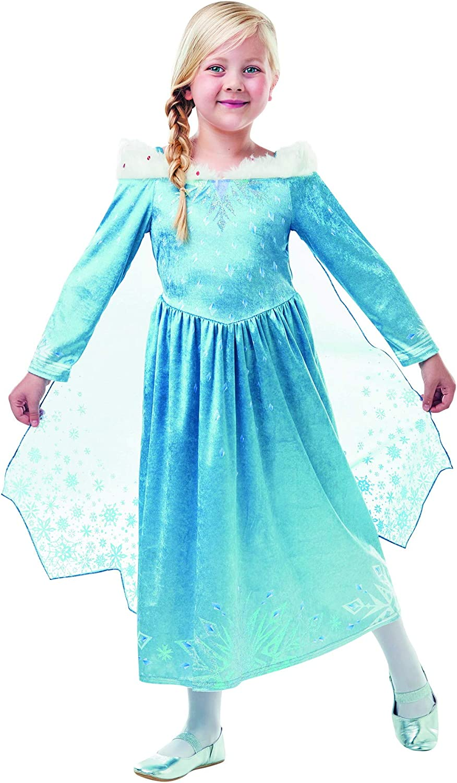 Fancy Ole – Disfraz de niña Elsa Frozen Olaf para Aventura Deluxe ...