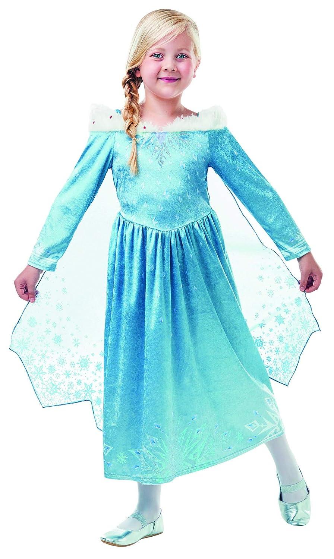 96c70effb686 Luxuspiraten - Costume Costume Costume Deluxe per Bambine Elsa Frozen Olaf