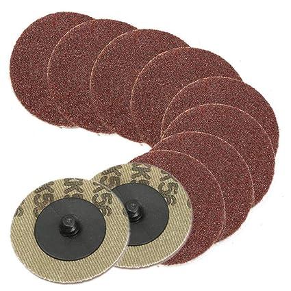 Moonvvin - Discos de Lija (10 Unidades, Grano 80, 5 cm): Amazon.es ...