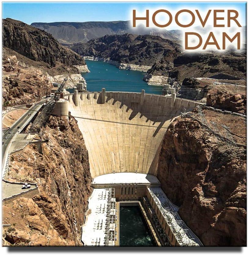 Hoover Dam Fridge Magnet Nevada Travel Souvenir Square