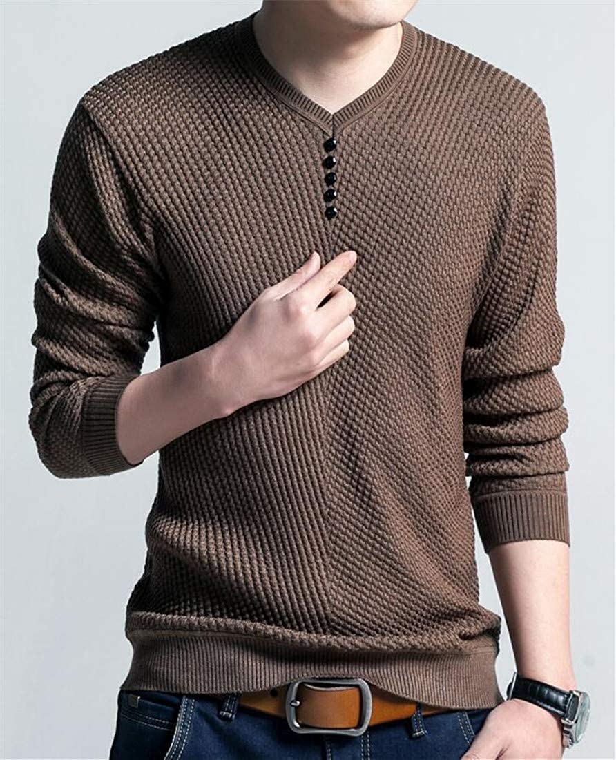 Adriat Mens Casual Stretch Juniors Knitted Pullover Slim Jumper Sweaters