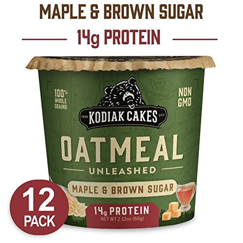 Kodiak Cakes Instant Protein Maple & Brown Sugar Oatmeal in a Cup