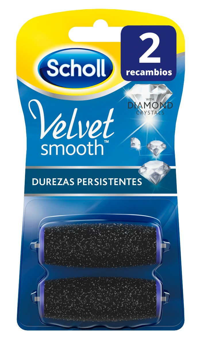 Scholl Velvet Smooth - Cabezales de recambio, 2 unidades: Amazon.es: Amazon Pantry