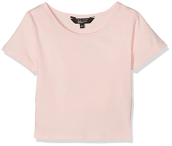 New Look Short Sleeve CE, Camiseta para Niñas, Rosa (Light Pink 70)