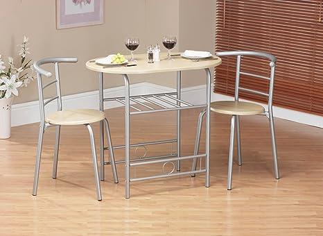 Set tavolo e sedie compatti: Amazon.it: Casa e cucina