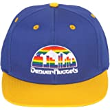 official images factory authentic san francisco Amazon.com : adidas NBA Denver Nuggets Box-Out Adjustable Snapback ...