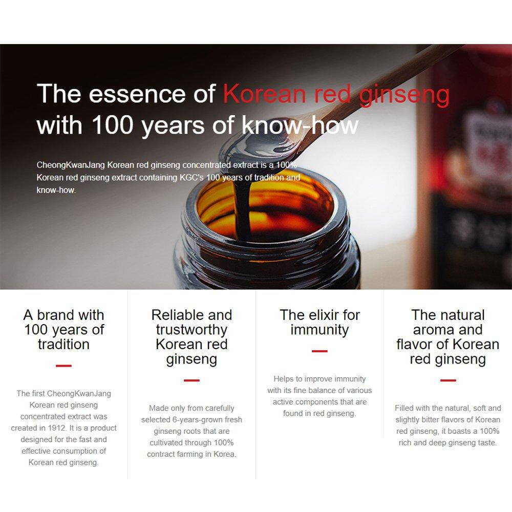 KGC Cheong Kwan Jang Korean 6years Red Ginseng Extract Royal 100 gram