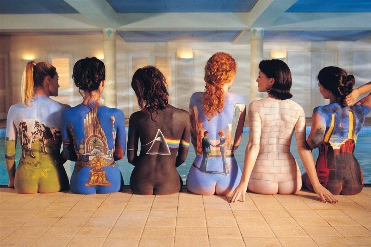 ART POSTER Pink Floyd Back Catalog