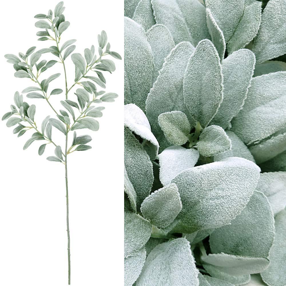 Supla フェイクグリーン植物人工シルクラムのイヤーリーフスプレー 1個 B07FXTF72M