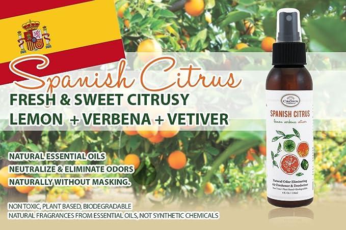The Crown Choice Sala Natural Desodorizador spray ambientador de ...