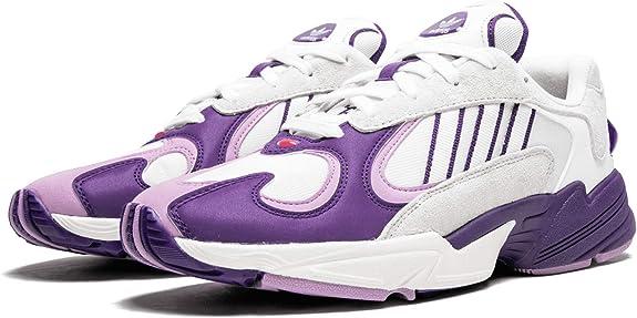 por supuesto Desventaja maduro  Amazon.com   adidas Yung-1 Dragon Ball Z Frieza D97048 White/Purple    Fashion Sneakers