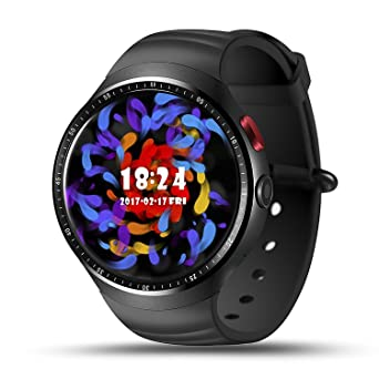 Amazon.com: LEMFO Smart Watch Phone AMOLED Screen Quad Core ...