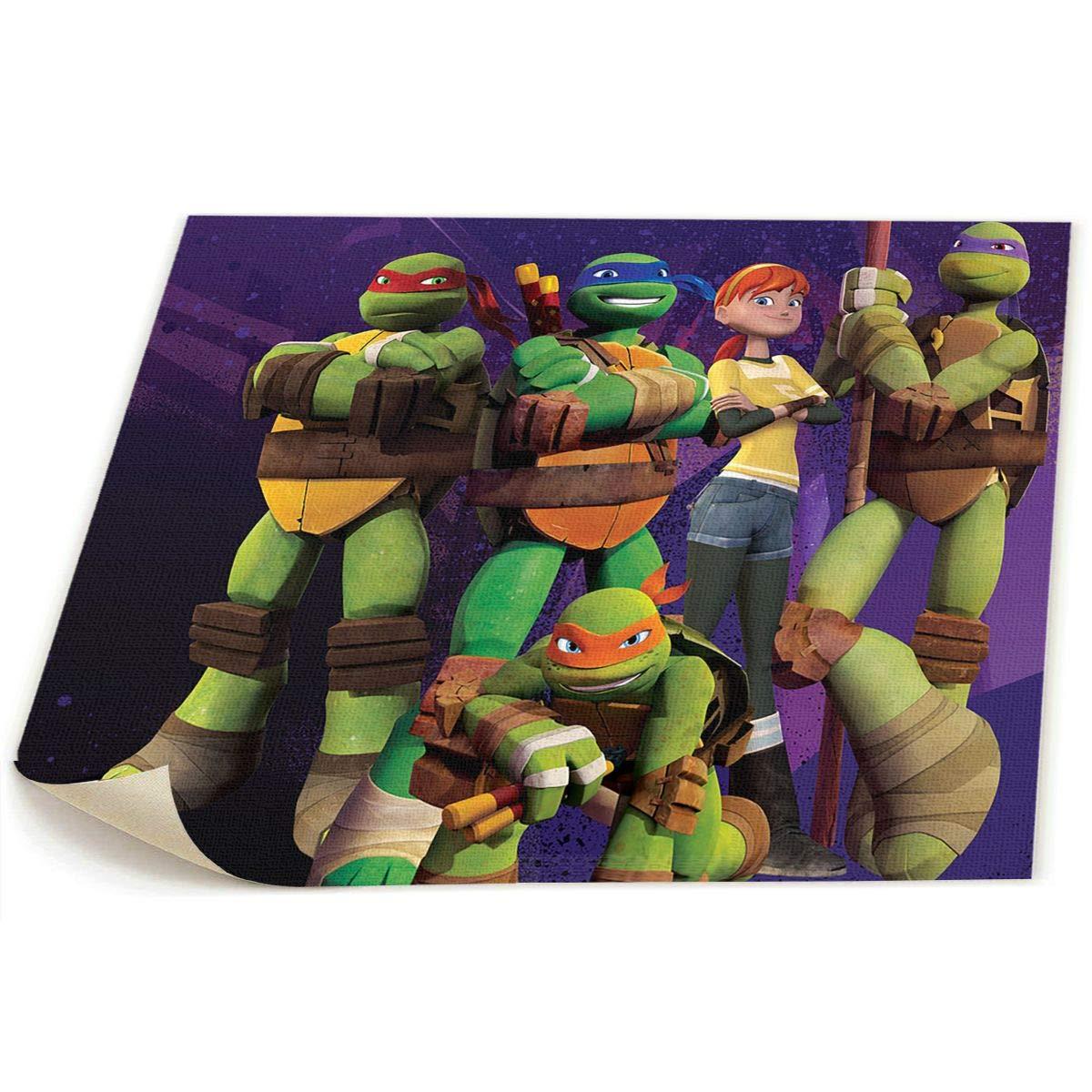 Amazon.com: HotHZ Ninja Turtle Wall Art Poster Printed On ...