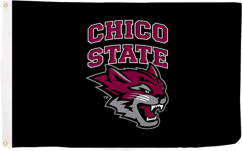 Desert Cactus CSU Chico California State University Wildcats NCAA 100/% Polyester Indoor Outdoor 3 feet x 5 feet Flag Style 6a