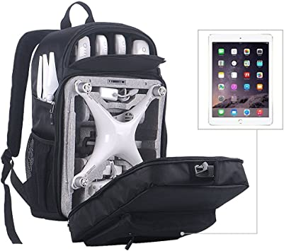 DJI Phantom3//4//4PRO+//V2.0 Backpack Hardshell Carry Case Turtle protection Bag