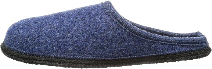 Herren Hausschuhe Pantoffel grau Größe 41 45 46 Wolle waschbar warm Beck 761