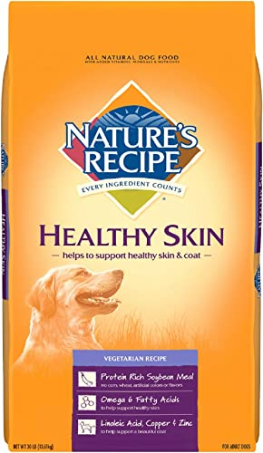 Nature s Recipe Healthy Skin Vegetarian Recipe Adult Dog Food