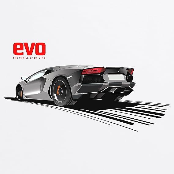Evo Bull Aventador Red Logo Camiseta infantil 3c7384830f1
