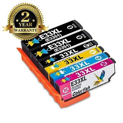 Cartouche dimprimante 33XL T3351 Compatible avec Epson XP-640 XP ...