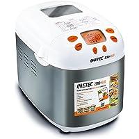 Imetec ime7815Zero-Glu máquina del PAN sin glutine Capacidad 1Kg potencia 920W Color Silver/blanco + Cookbook 100recetas