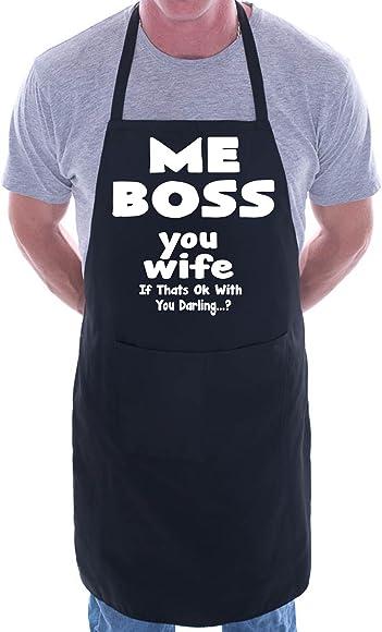 Novelty Aprons BBQ Rules For Men