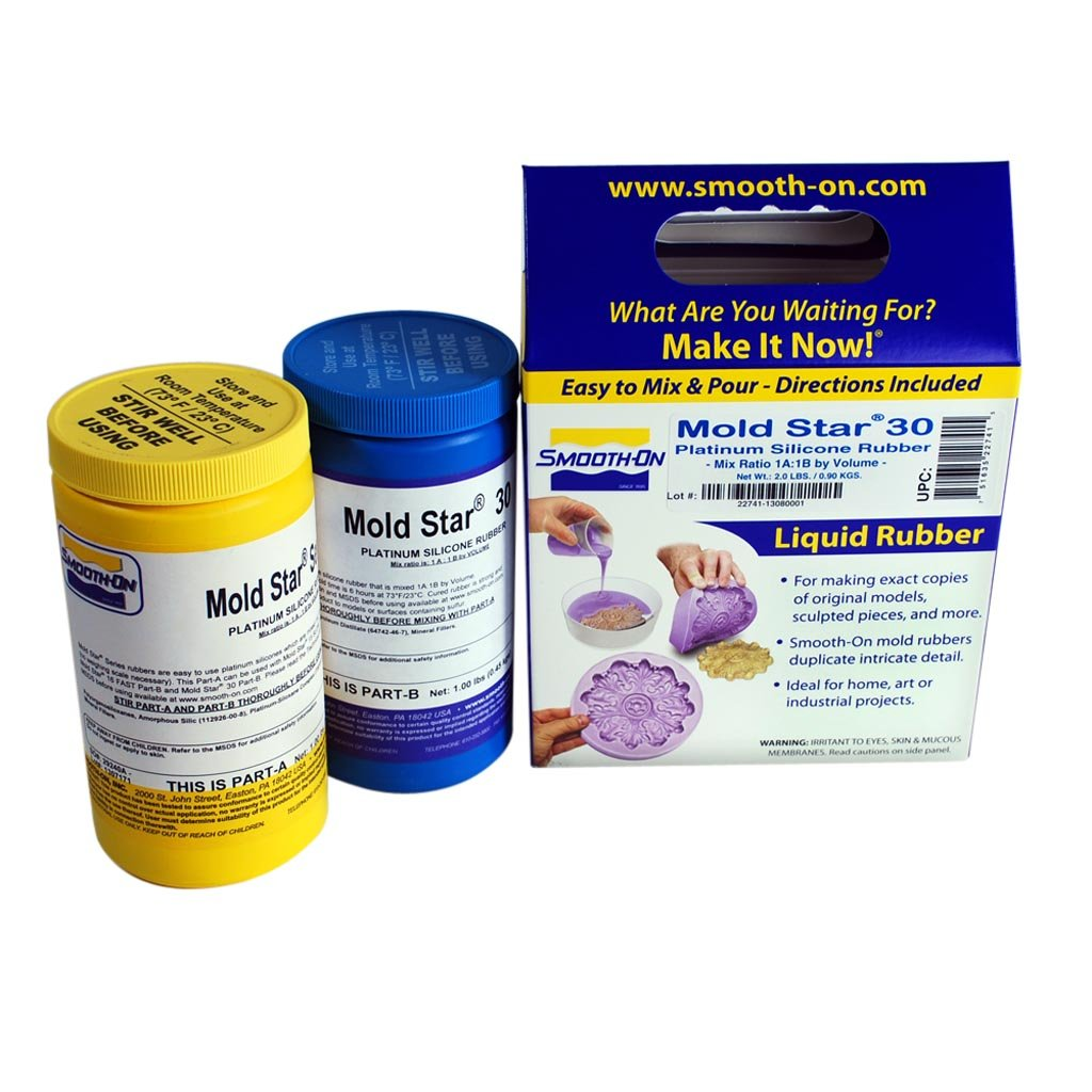 Mold Star 30 Silicone Mold Making Rubber - Trial Unit Smooth-On Inc. COMINHKR067156
